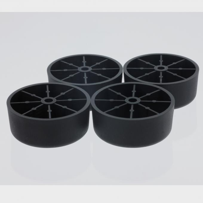 KR-P0368 24mm Height Round Furniture Feet Sofa Plastic Legs High Durability KR-P0368