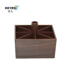 KR-P0249W furniture feet 60mm height wood looking leg for bed
