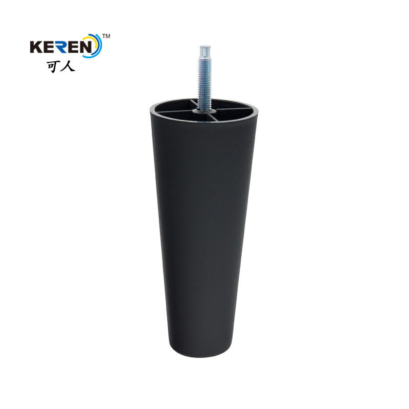 KR-P0313 145mm Height Round Furniture Feet , Plastic Sofa Legs Replacement No Noisy supplier