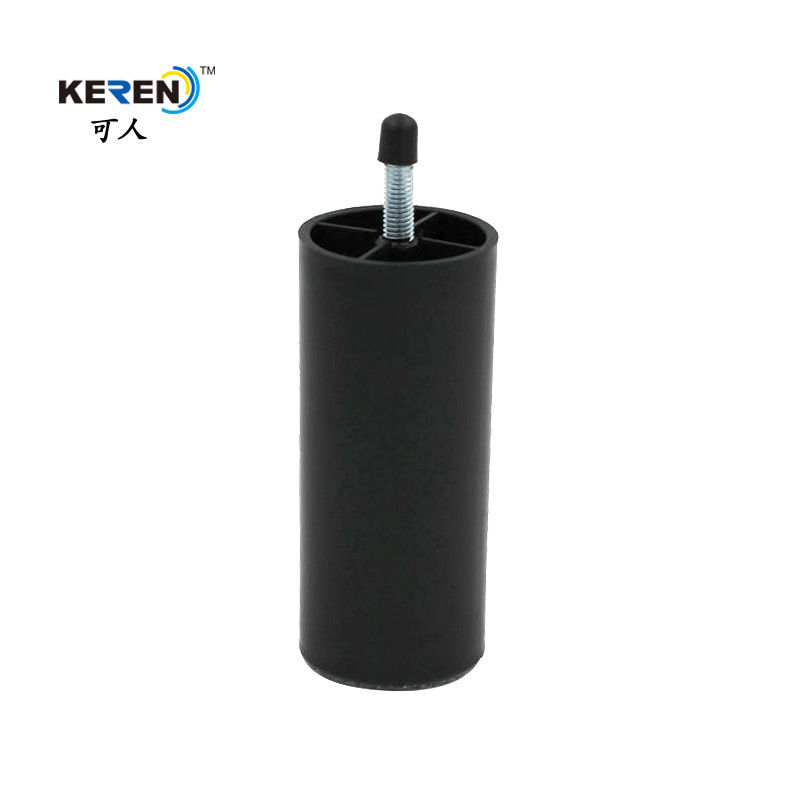 KR-P0132 Durable Plastic Leveling Feet , 115mm Adjustable Furniture Legs Easy Install supplier