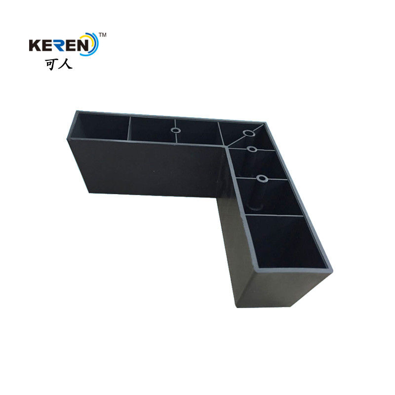 KR-P0261 Durable Plastic Cabinet Feet , Modern L Shaped Furniture Feet High Stability supplier