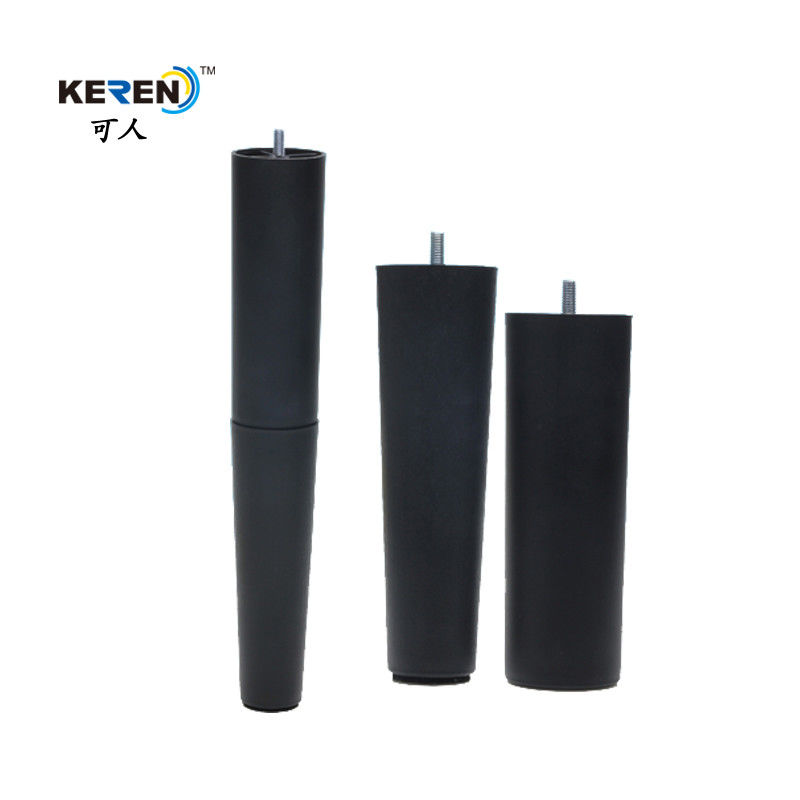 KR-P0419 PP Material Plastic Sofa Legs Replacement 380mm Height For Furniture Protection supplier