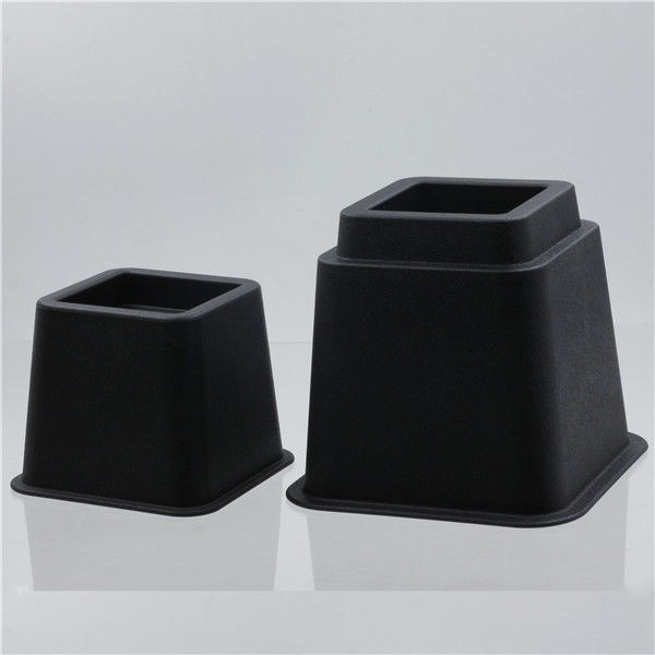 8 Inch 95mm SGS Rubber Stacking Adjustable Bed Risers supplier